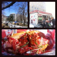 """Found Red Hook Lobster food truck for the best Lobster Roll I ever had. Good stuff."" @JeremySingerArt"