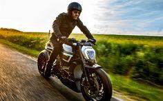 Télécharger fonds d'écran Ducati XDiavel, coureur, en 2017, les vélos, le mouvement, la Ducati