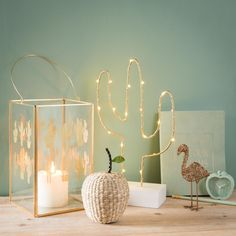Mood lights and room scents - Glass lantern with gold-colored cactus motifs Cactus Bedroom, Room Scents, Cactus Decor, Cactus Art, Cactus Plants, Gold Rooms, Cute Room Decor, New Room, Girl Room