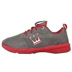 1dd849e087d Dada Supreme A-Train Grey Red Mens Parkour Running Shoes TMRT379S-GGR Dada  Shoes