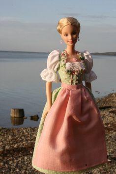 Rosa at Ammersee, fashion doll