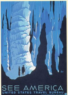 Old travel poster