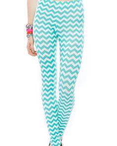 20 Cute leggings and tights under  10 Chevron 95f623258a