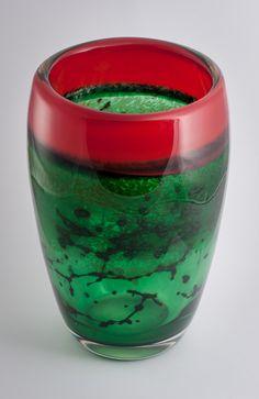 James Fletcher. Lava red (Kugler glass) and Forest green. #glass #art #artist #natureart #inspiration #homedecor #handmade #interiordesign #decoration