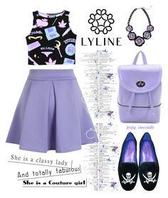 """Lylinebrand - Purple Lover: 26/09/16"" by pinky-chocolatte ❤ liked on Polyvore featuring Chicwish, MyStyle, polyvorecommunity, beoriginal, polyvorefashion and PolyvoreMostStylish"
