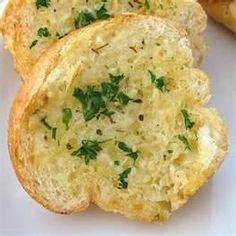 Herbed Parmesan Garlic Bread