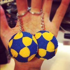 korfball ball handsmade Felt Crafts, Drop Earrings, Sport, Diys, Tennis, Craft Ideas, Search, Instagram, Summer