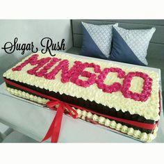 Our giant birthday cake