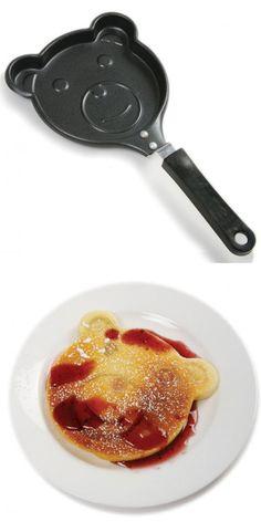 Bear Pancake Pan - want