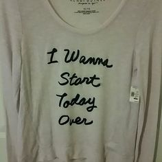 Aeropostle NYC Soft Pink Sweater. NWT We have all had these kind of days....lol.  Really comfortable and adorable.  Pairs with jeans or skirt, really versatile and soft. Great deal.  Won't last....   #Aeropostle.  #Aeropostle sale Aeropostale Tops Tunics