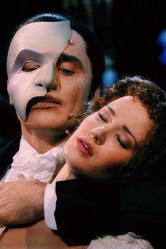 Ramin Karimloo & Sierra Boggess, The Phantom of the Opera 25th Anniversary at Royal Albert Hall. Aka my sister's obsession.