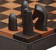 HERMES CHESS SET #WoodworkingProjectsChessboard
