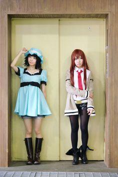 steins gate cosplay | Mayuri and Kurisu – Steins;Gate Cosplay