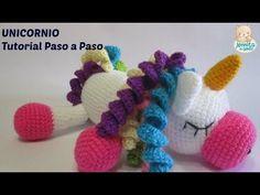Amigurumi Unicornio Tutorial : Zapatitos unicornio a crochet youtube beba tejidos