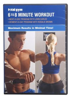 awesome Total Gym 6-8 Minute Workout DVD