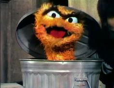 "Oscar the Grouch was originally orange. | 21 Facts And Tidbits About ""Sesame Street"" That Might Blow Your Mind"