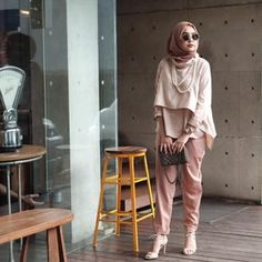 Casual Chic, Hijab Casual, Hijab Outfit, Casual Tops, Arab Fashion, Muslim Fashion, Modest Fashion, Fashion Outfits, Simple Outfits