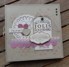 """Mini album """"toi et moi"""" - le scrap de christine 20-5-2013. Belle idée mini"""