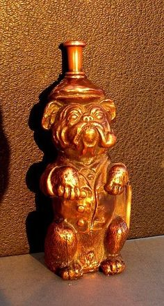 Ronson Sherlock Holmes Bulldog Figural Striker lighter 1930 s...