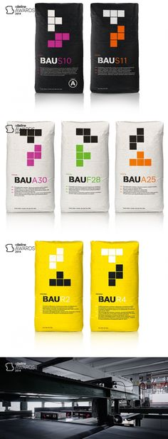 The Dieline Awards 2014: Personal Care, Garden, & Home, 3rd Place – BAU — The Dieline | Packaging & Branding Design
