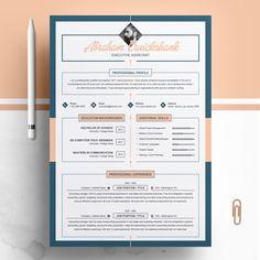 Creative Resume / CV Template by ResumeInventor on Teacher Resume Template, Modern Resume Template, Resume Template Free, Creative Resume Templates, Creative Cv, Design Templates, Creative Design, Resume Tips, Resume Cv