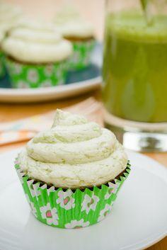 Green Smoothie Cupcakes