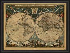 BCBL Map of the World 1664