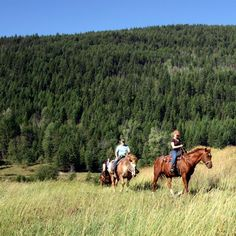 Tod Mountain Ranch - Heading out for the day
