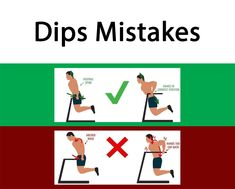 Dips Exercise Mistakes #Exercises_Mistakes #Mistakes_at_gym #Triceps_Exercises_Mistakes #muscles_pain # joints_pain #Triceps_Exercises #Arm_Exercises #Chest_Exercises
