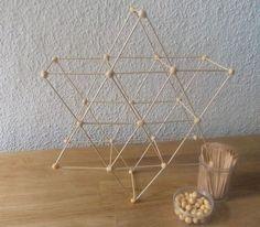 Geometrische Formen bauen mit Erbsen und Zahnstocher