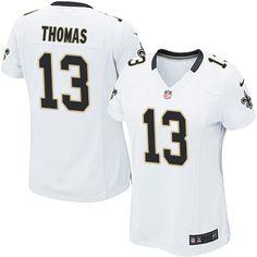 Wholesale Cheap Women s New Orleans Saints Michael Thomas Game White Road  Nike NFL Jersey f80fa79a8