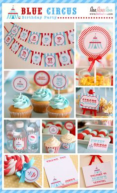 circus birthday ideas