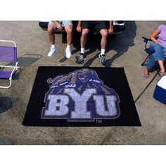 Brigham Young Cougars NCAA Tailgater Floor Mat (5'x6')