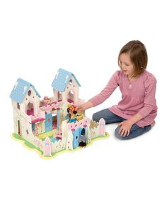 Take a look at this Princess Palace by Santa's Workshop: Toys & Games on #zulily today!