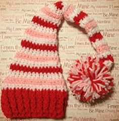 Valentine's+crochet | Crochet Valentine's Day Red Pink and White ... | Crochet or Knit ~ Ha ...