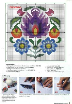This Pin was discovered by Ter Cross Stitch Heart, Cross Stitch Borders, Modern Cross Stitch, Cross Stitch Flowers, Cross Stitch Kits, Cross Stitch Designs, Cross Stitching, Cross Stitch Embroidery, Hand Embroidery