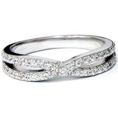Diamond Wedding Rings Diamond Halo Engagement Rings by Halo Diamond Engagement Ring, Diamond Wedding Rings, Wedding Ring Bands, Stackable Diamond Rings, Infinity Ring Wedding, Beautiful Wedding Rings, Twist Ring, Metal Bracelets, White Gold Rings