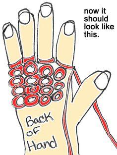 How to Finger Knit – Finger Knitting