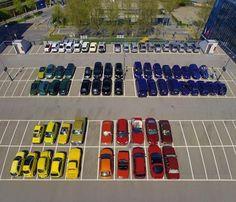 11. Amaría que todos los estacionamientos fueran así.