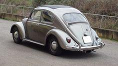 """Vittorio"", my VW Beetle Diamond Grey Ragtop 1958"