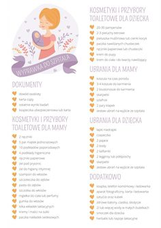Wyprawka do szpitala – cz.2 seria wyprawkowa - Maly Wredny Mis Baby Checklist, Baby Boom, Girl Outfits, Pregnancy, Love You, Parenting, How To Plan, Children, Tips