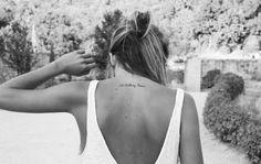 Tatuering nacke