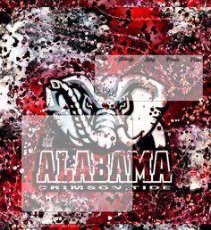 ala crimson tide football | Alabama Crimson Tide Div by spdwysmart1