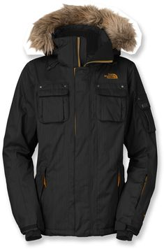 The North Face Baker Delux Insulated Jacket for snowboarding :)