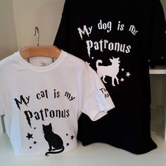 c42af9595 Limited edition Patronus t-shirts will be available this weekend only for  Chestnut Hill's Harry Potter Festival! We also have House bandanas collars  and ...