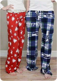 Adult Pajama Pants– Free Sewing Pattern