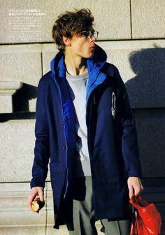 MMO - Male Model Otaku: Marc Schulze: men's FUDGE April 2014 [1]