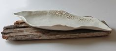 Porcelain platter form inspired by patterns of Barnacle shells on coastal rocks. Would be lovely for serving roasted seaweed and sushi.