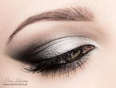 MissHeledore Wizaż online Makeup Tips, Eye Makeup, Make Me Up, How To Make, Girly Things, Girly Stuff, Mystic, Eyebrows, Hair Beauty