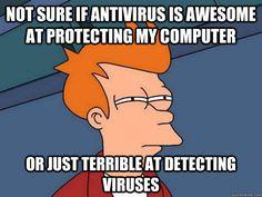Not sure if Antivirus...